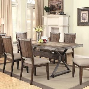 Coaster Beckett Rectangular Dining Table