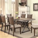 Coaster Beckett Rectangular Dining Table - Item Number: 107011
