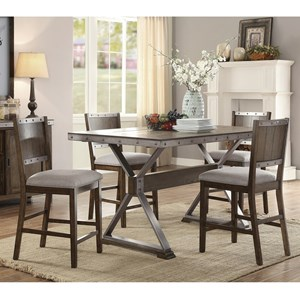 Coaster Beckett Counter Height Dining Set