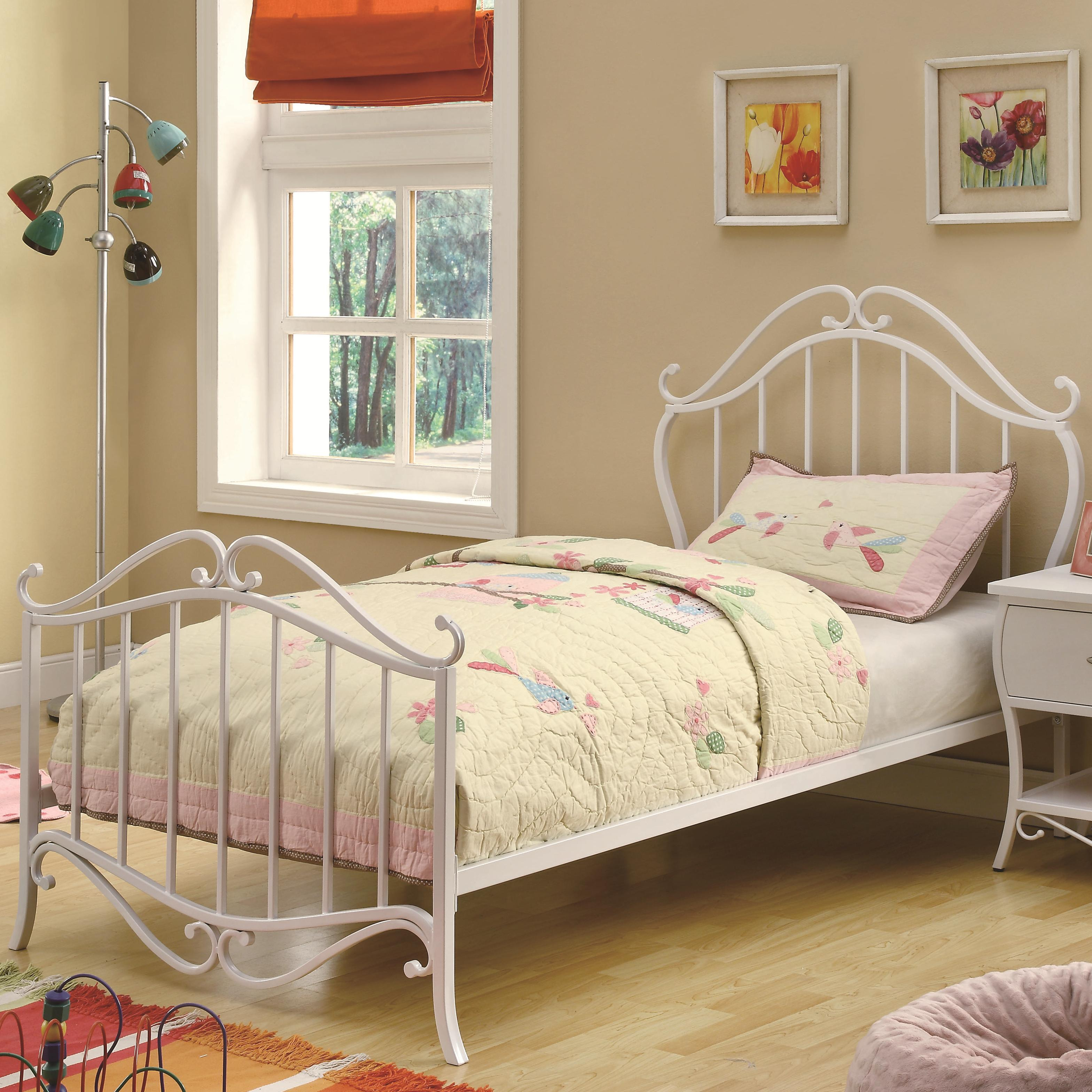 Coaster Bella Twin Bed - Item Number: 400521T