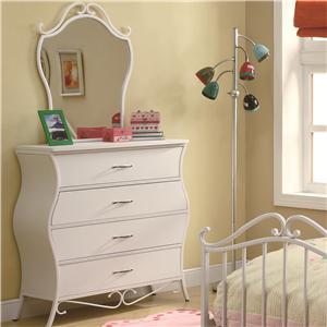 Coaster Bella Dresser & Mirror