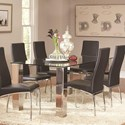 Coaster Bellini Dining Table - Item Number: 107111