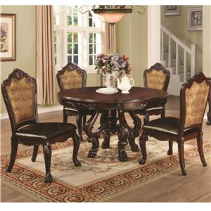 Coaster Benbrook Dining Table and Chair Set
