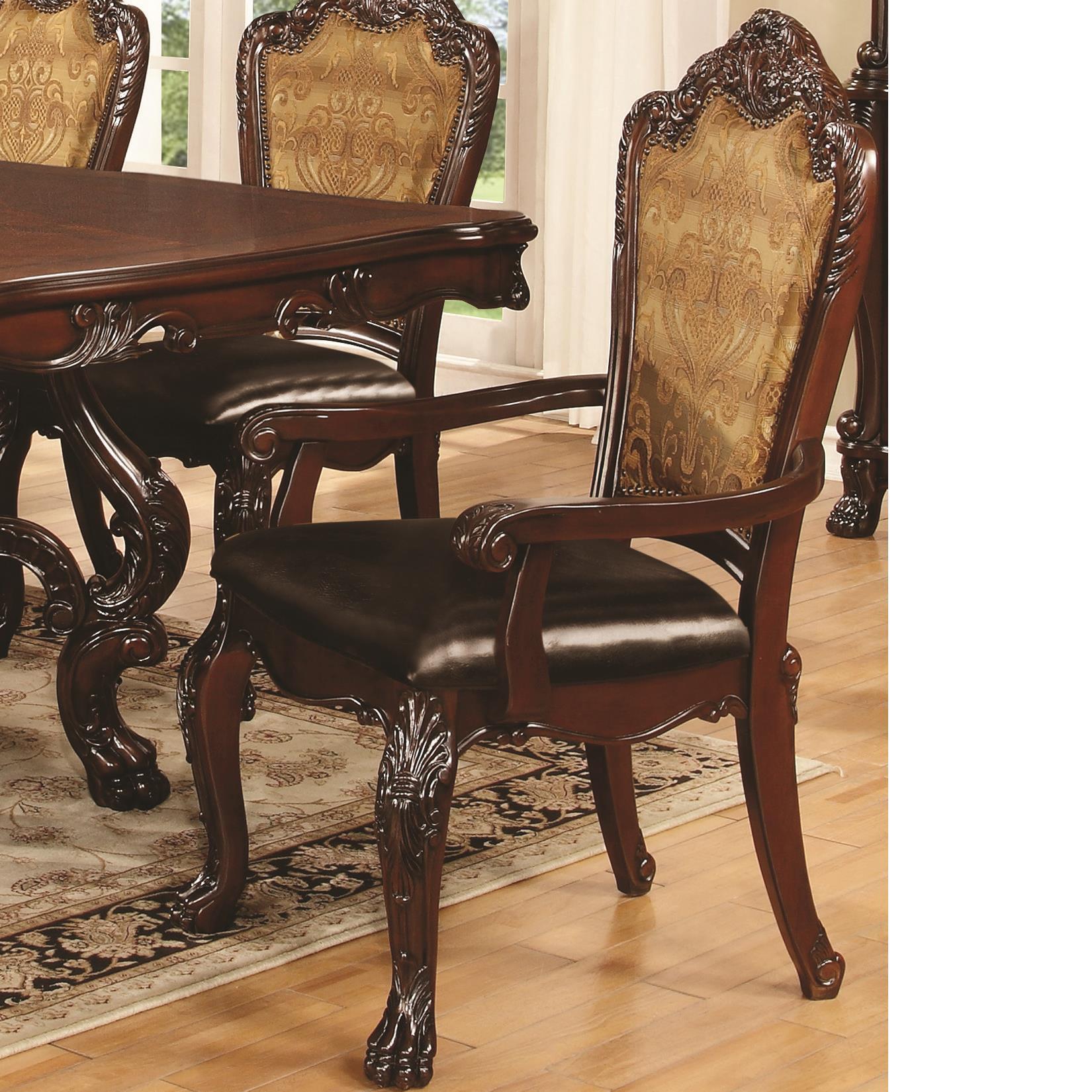 Coaster Benbrook Dining Arm Chair - Item Number: 105513