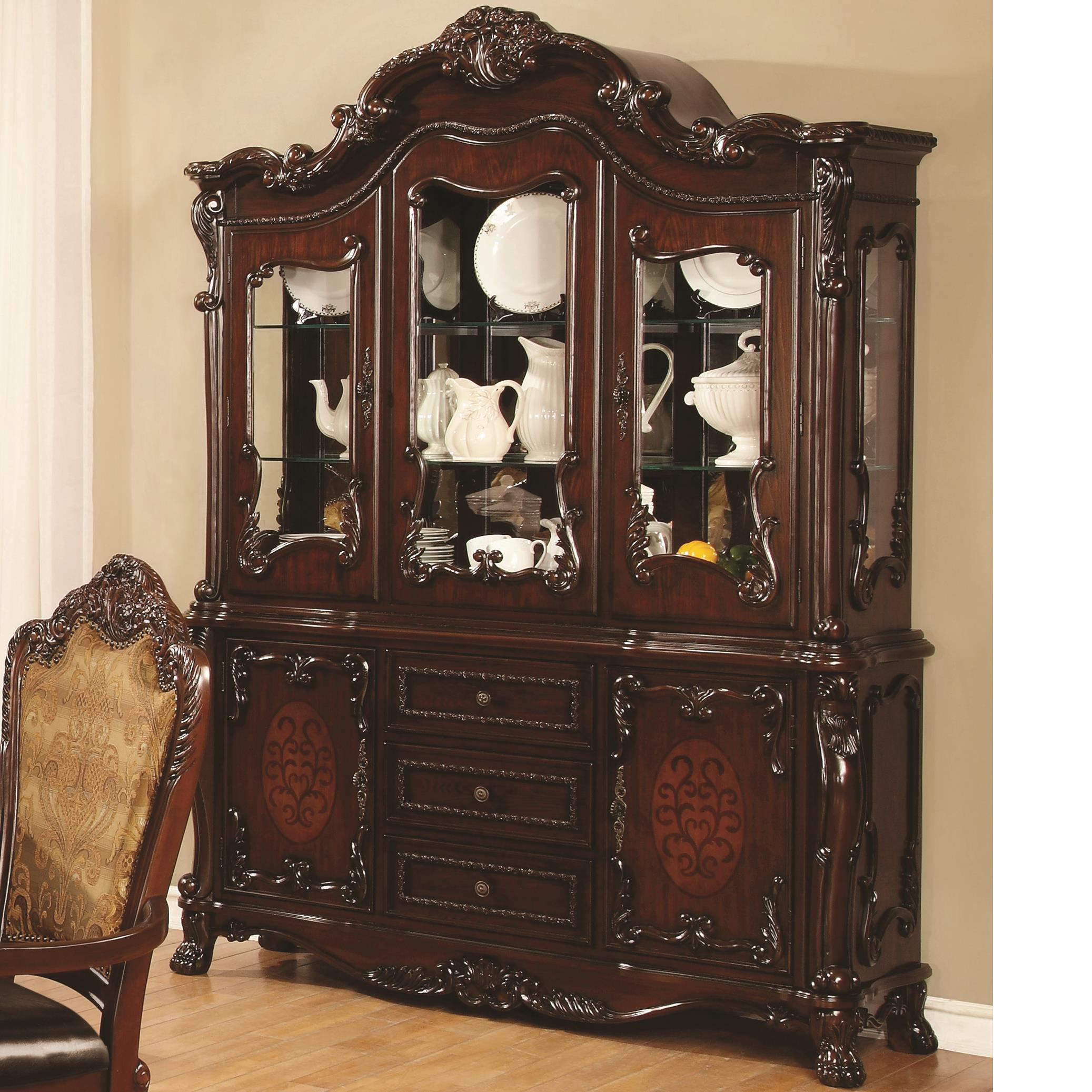 Coaster Benbrook China Cabinet - Item Number: 105514