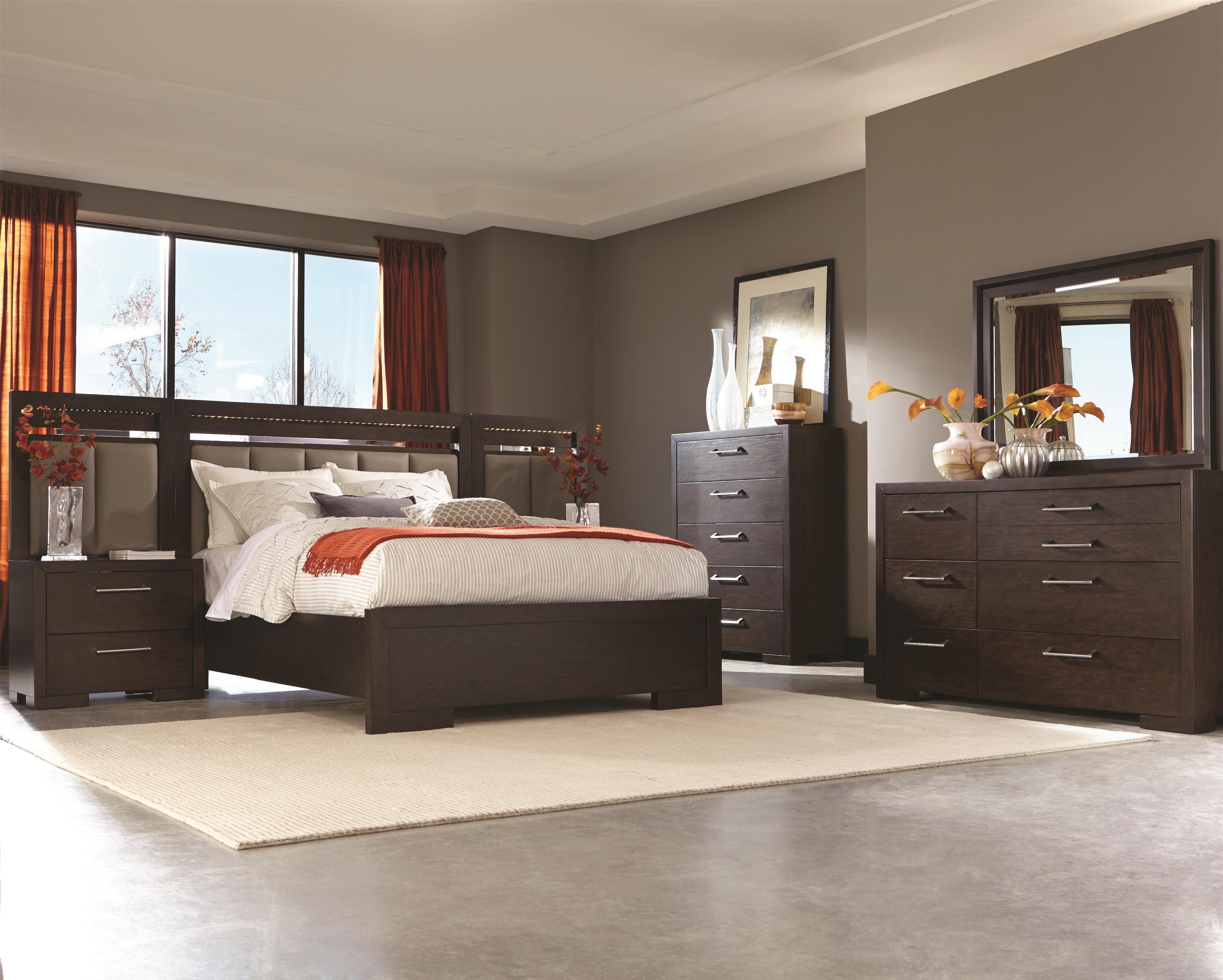Coaster Berkshire Queen Bedroom Group 1 - Item Number: 20446 Q Bedroom Group 1