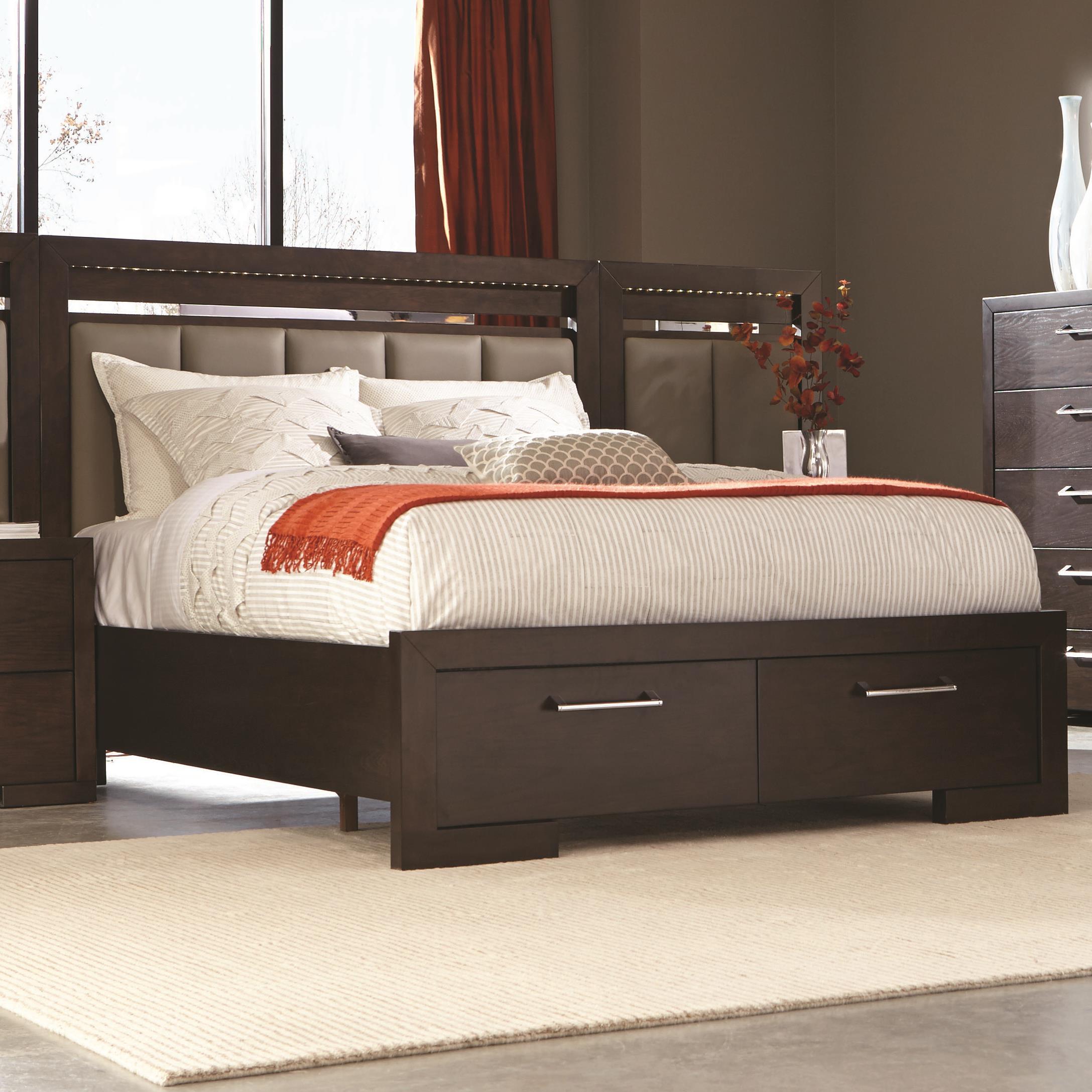 Coaster Berkshire King Storage Bed - Item Number: 204460KE