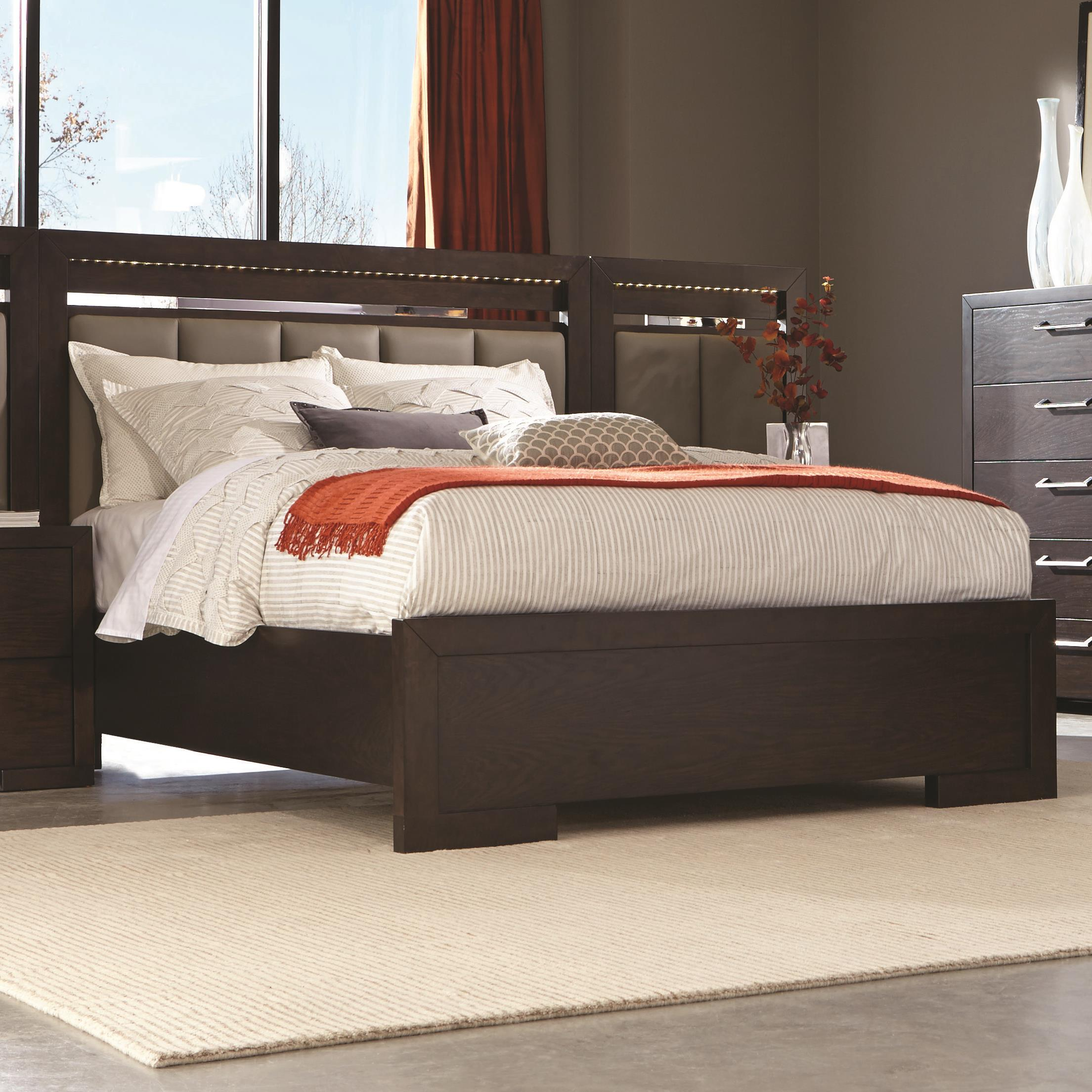 Coaster Berkshire King Panel Bed - Item Number: 204461KE