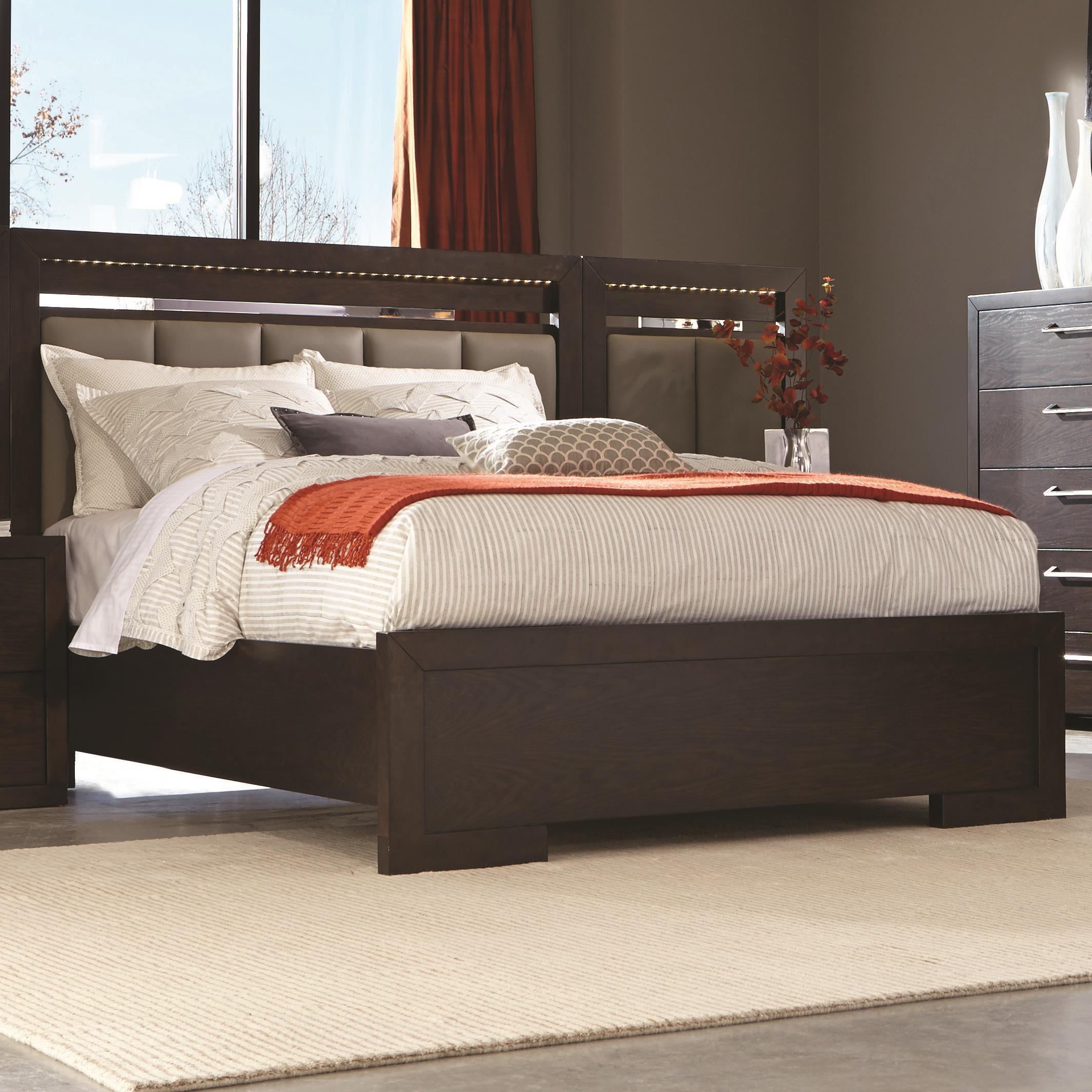 Coaster Berkshire Queen Panel Bed - Item Number: 204461Q