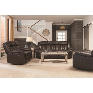 Coaster Bevington Reclining Living Room Group