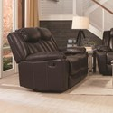 Coaster Bevington Motion Loveseat - Item Number: 602042