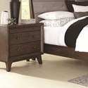 Coaster Bingham 3 Drawer Nightstand - Item Number: B259-02