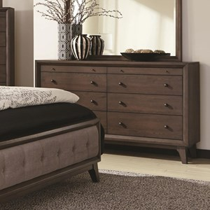 Coaster Bingham 8 Drawer Dresser