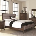 Coaster Bingham Queen Upholstered Bed - Item Number: B259-10