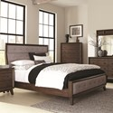 Coaster Bingham King Upholstered Bed - Item Number: B259-11