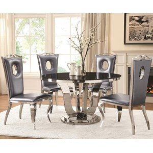 Coaster Blasio 5 Pc Dining Set