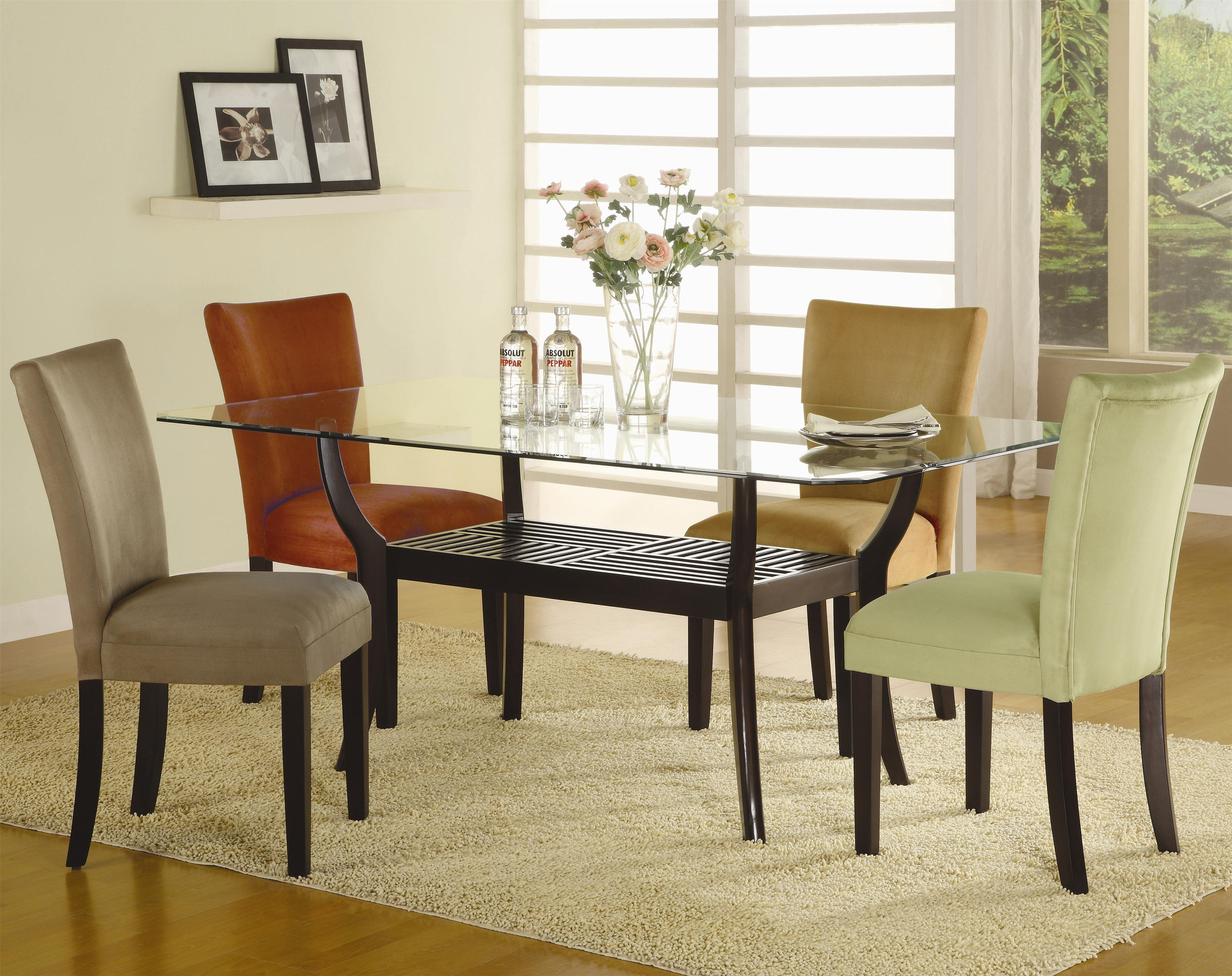 Coaster Bloomfield 5 Piece Dining Set - Item Number: 101491+CB4272+101492+3+4+5