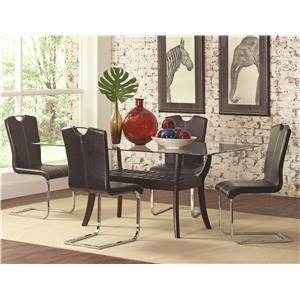 Coaster Bloomfield Table and Chair Set