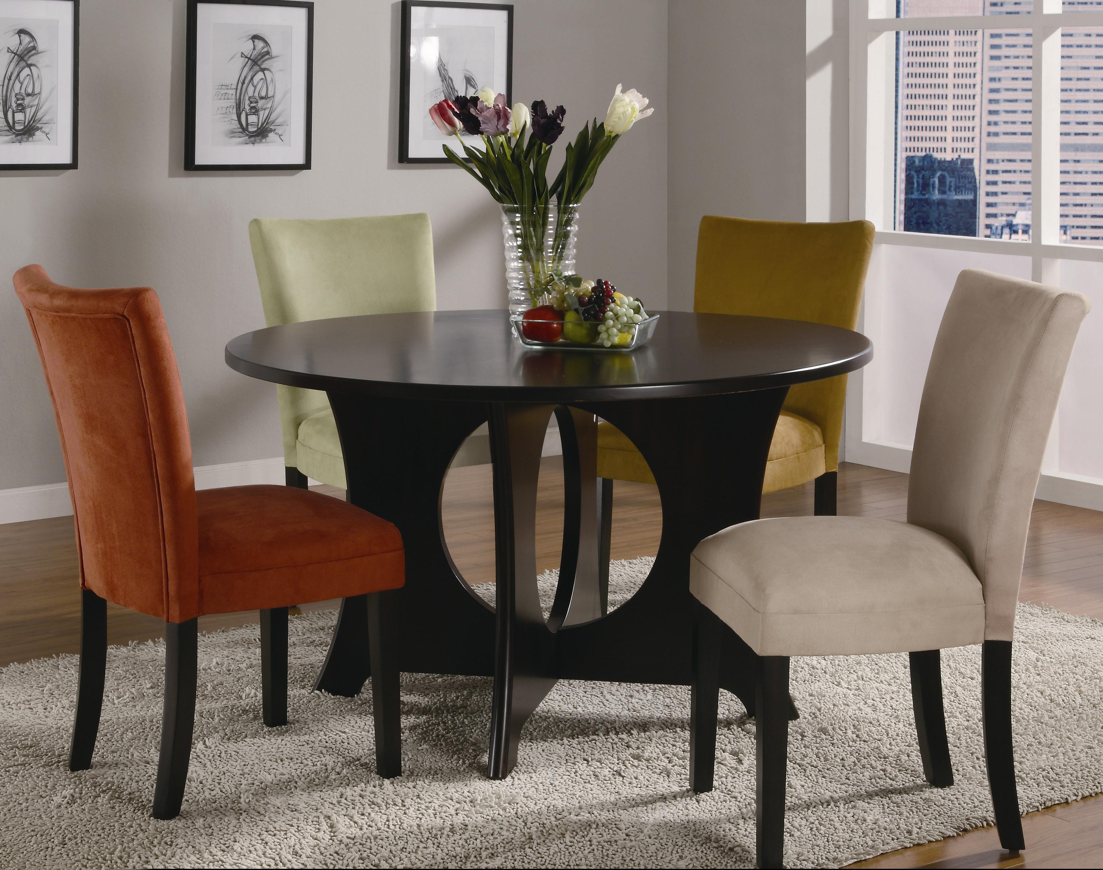 Coaster Castana 5 Piece Dining Set - Item Number: 101661+101492+101493+101494+101495