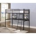 Coaster Boltzero Twin Loft Bunk Bed - Item Number: 460473T