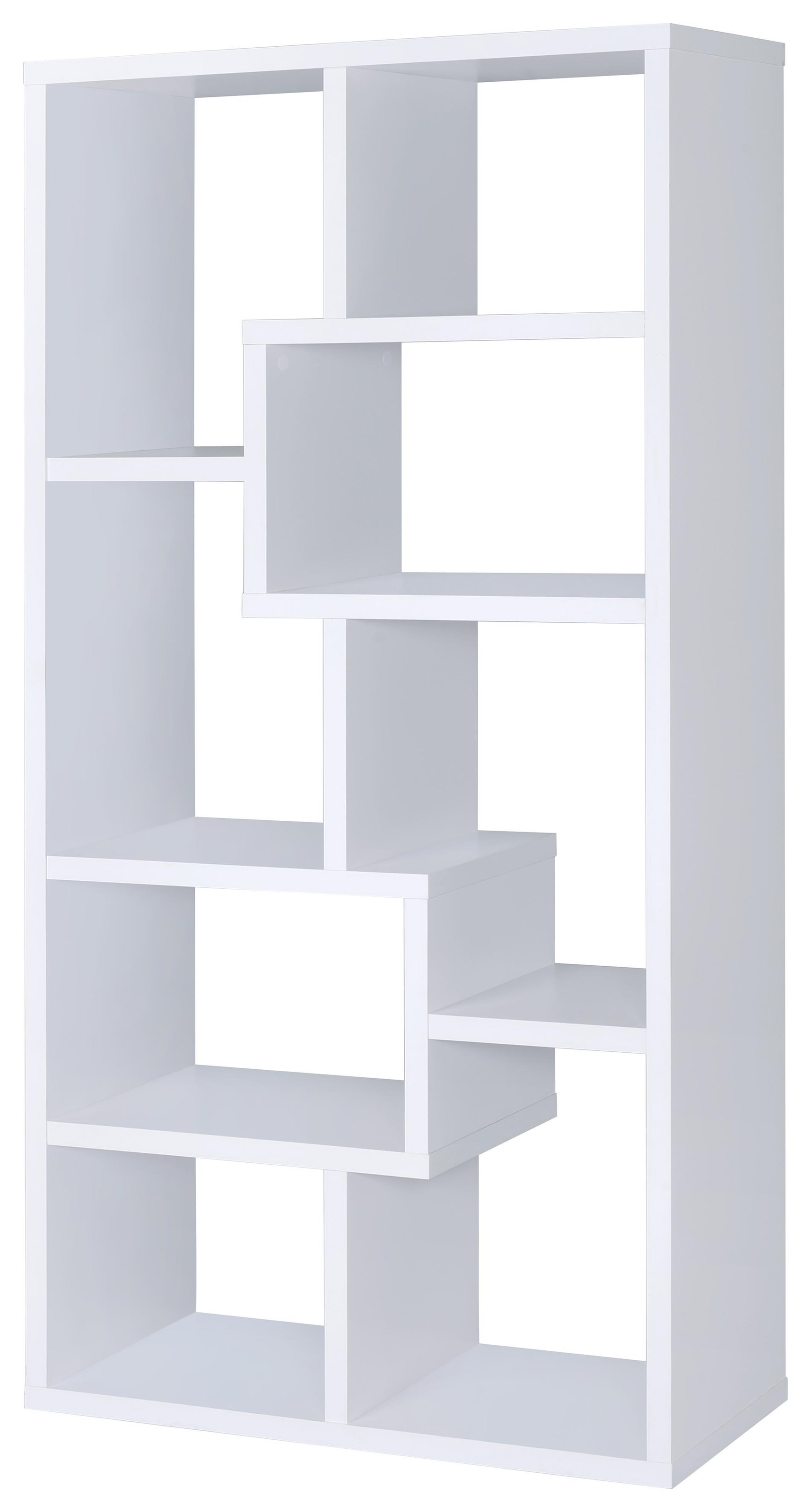 Coaster Bookcases Bookcase, White - Item Number: 800136