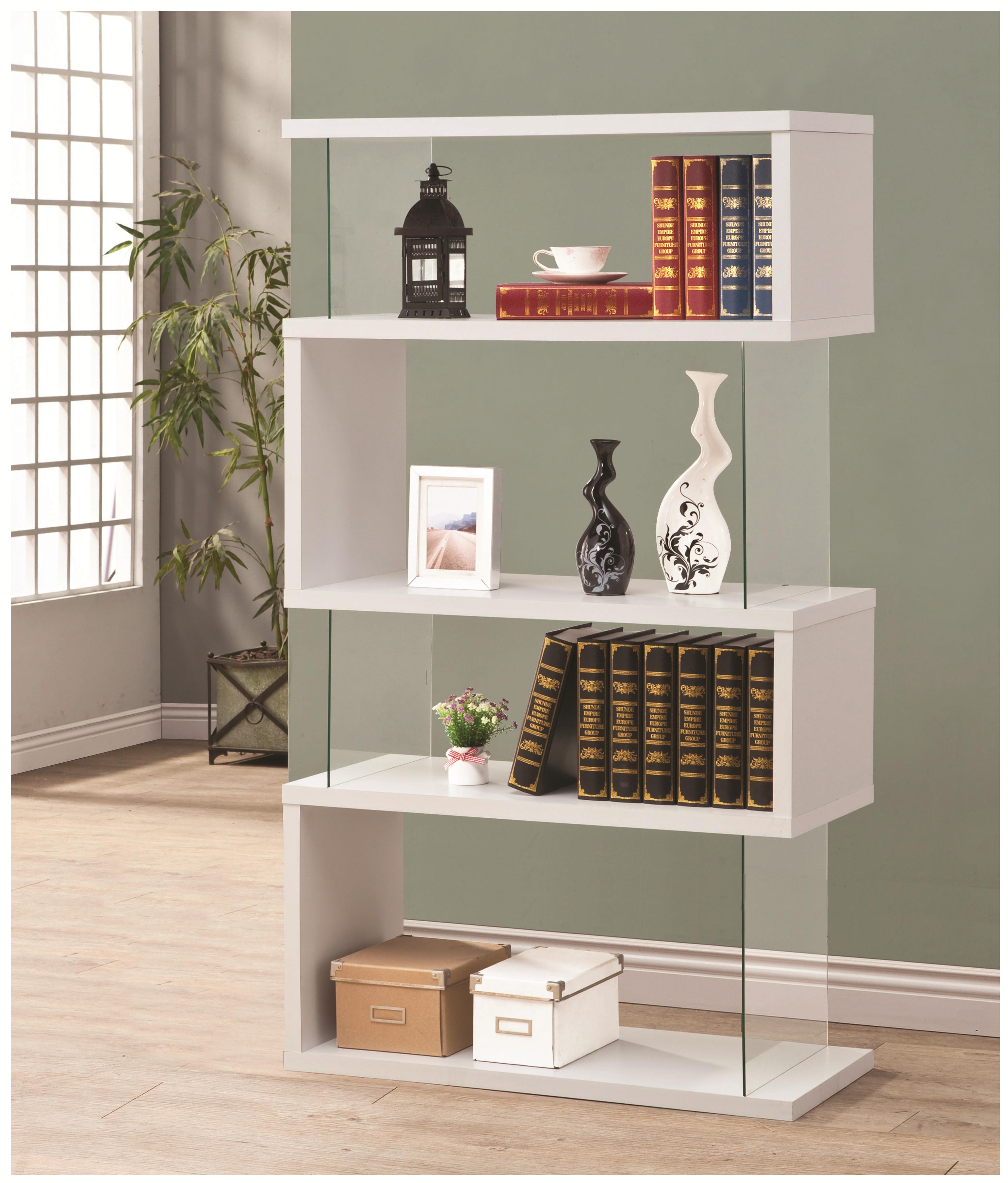 attractive winsome small bookcase ashley mobilemonitors black rustic a furniture bookcases table accents