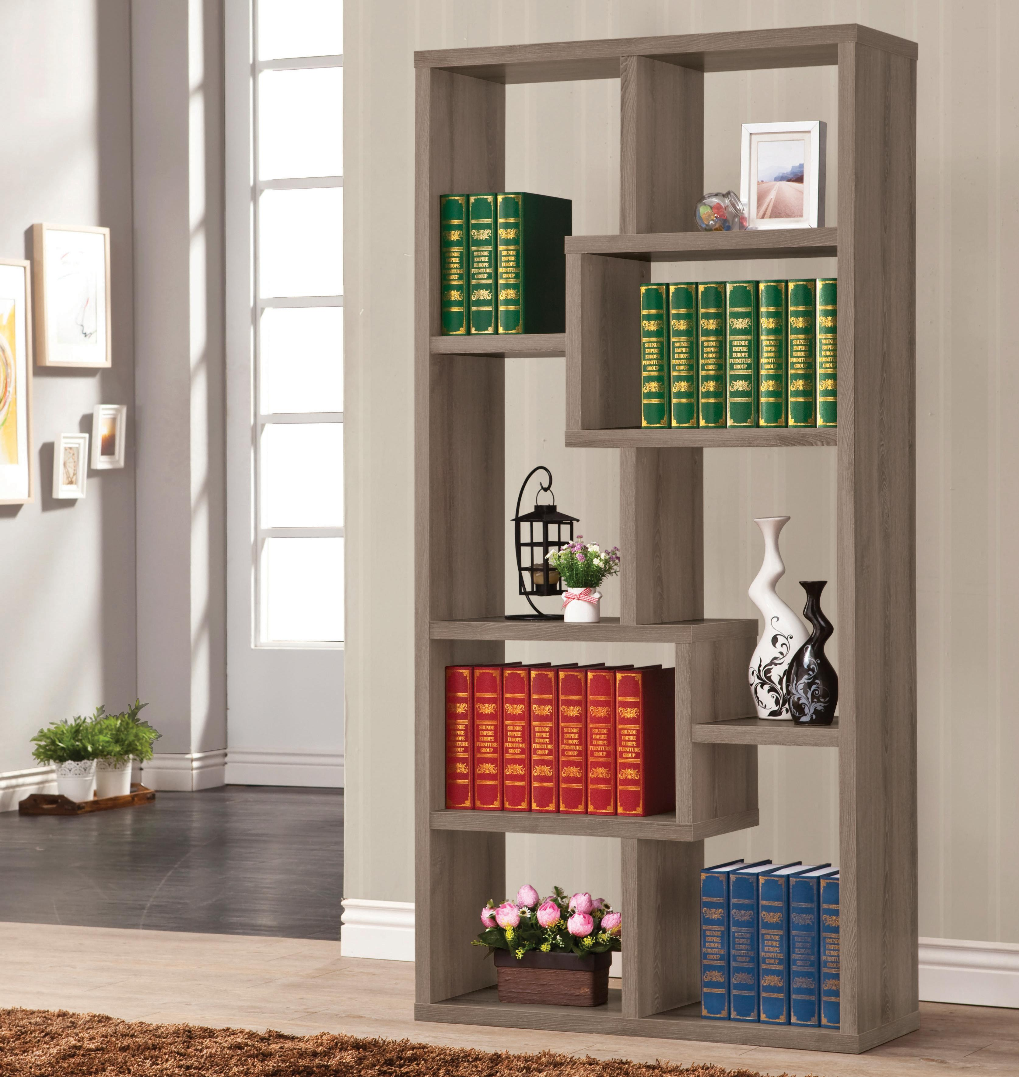 Bookcase, Weathered Grey