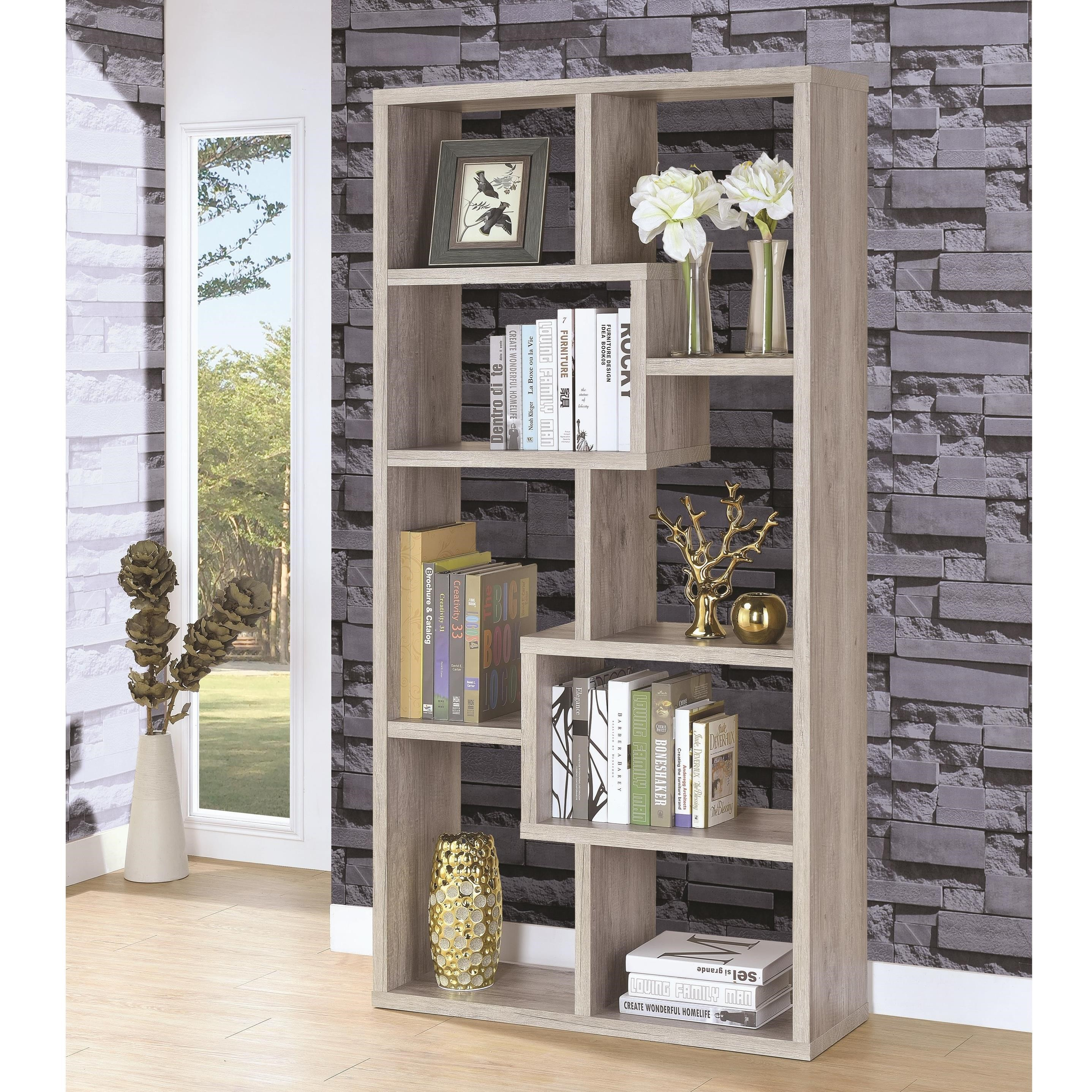 Bookcases 8 Shelf Bookcase by Coaster at Carolina Direct
