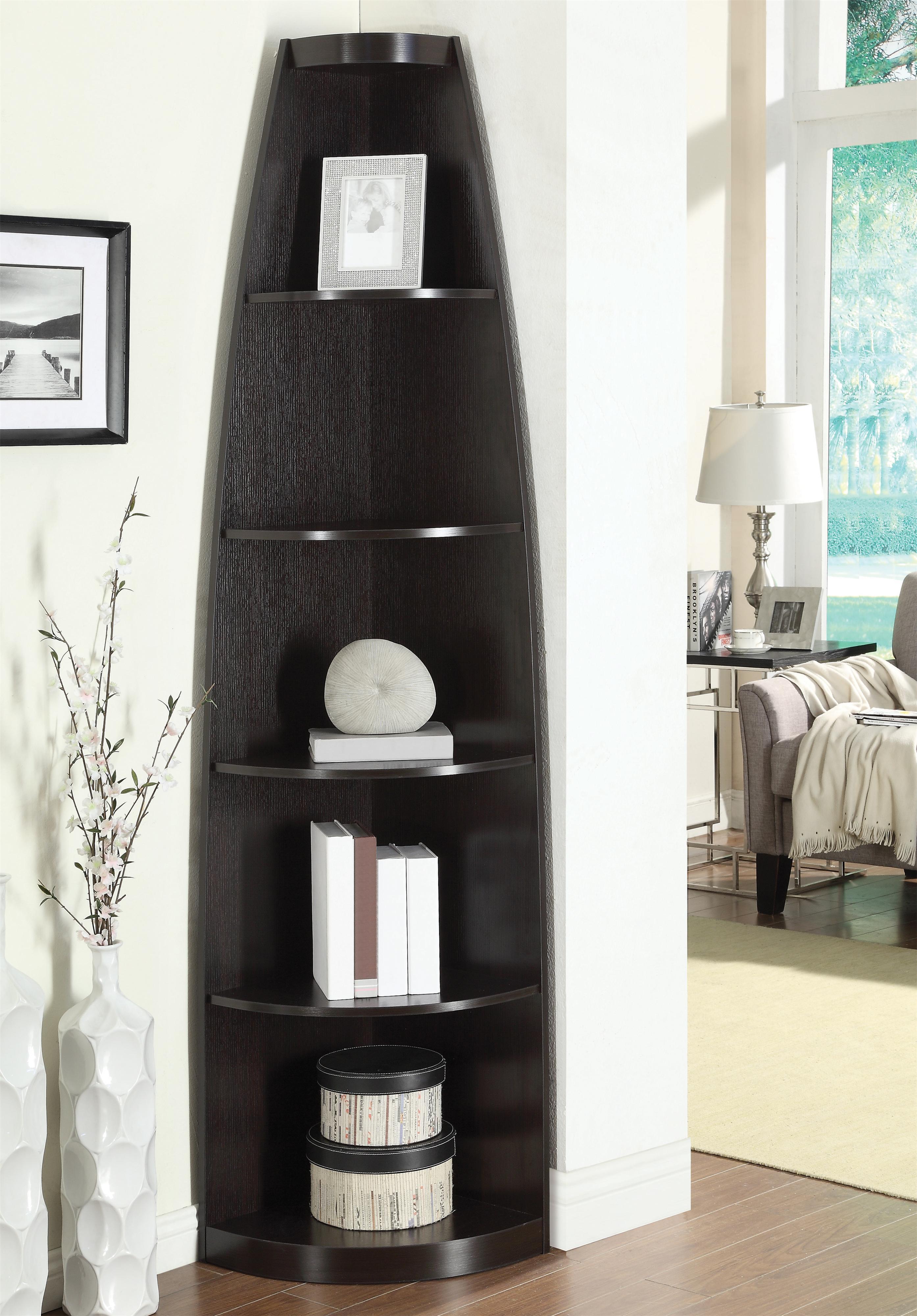 Coaster Bookcases Corner Shelf - Item Number: 801181