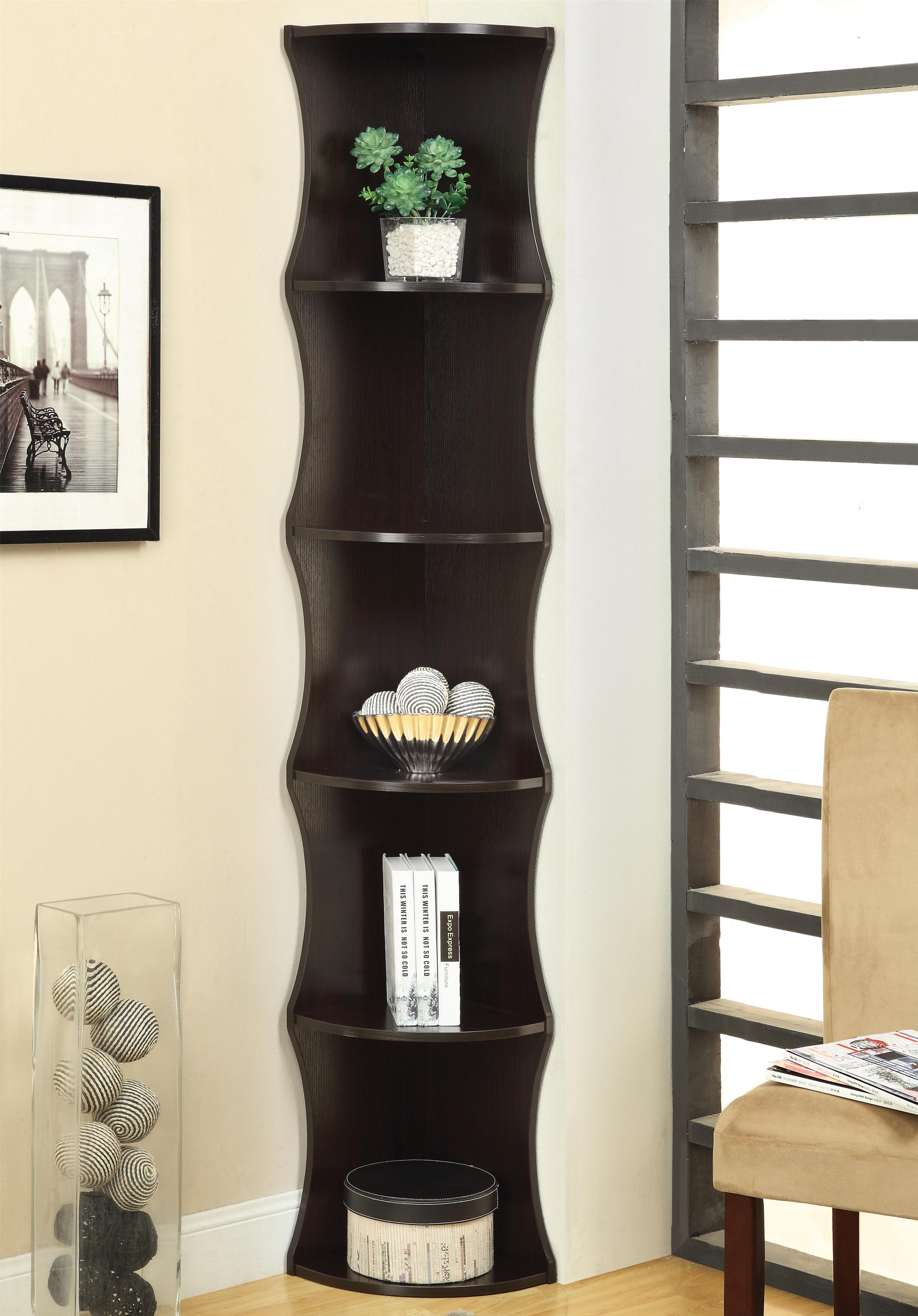Coaster Bookcases Corner Shelf - Item Number: 801182