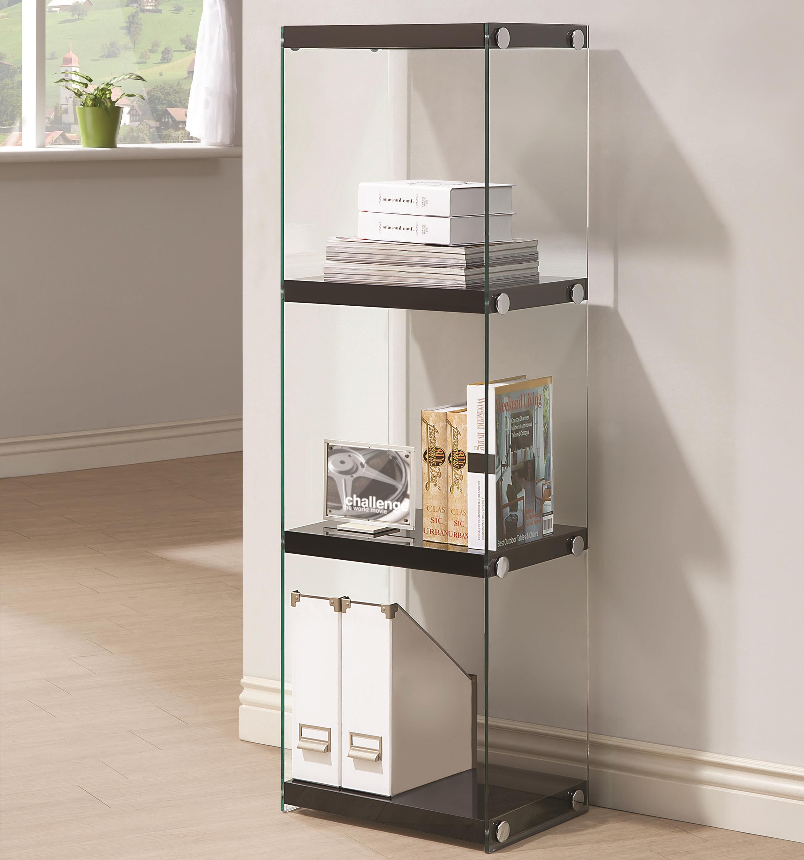 Coaster Bookcases 3 Shelf Bookcase - Item Number: 801257