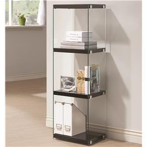 Coaster Bookcases 3 Shelf Bookcase