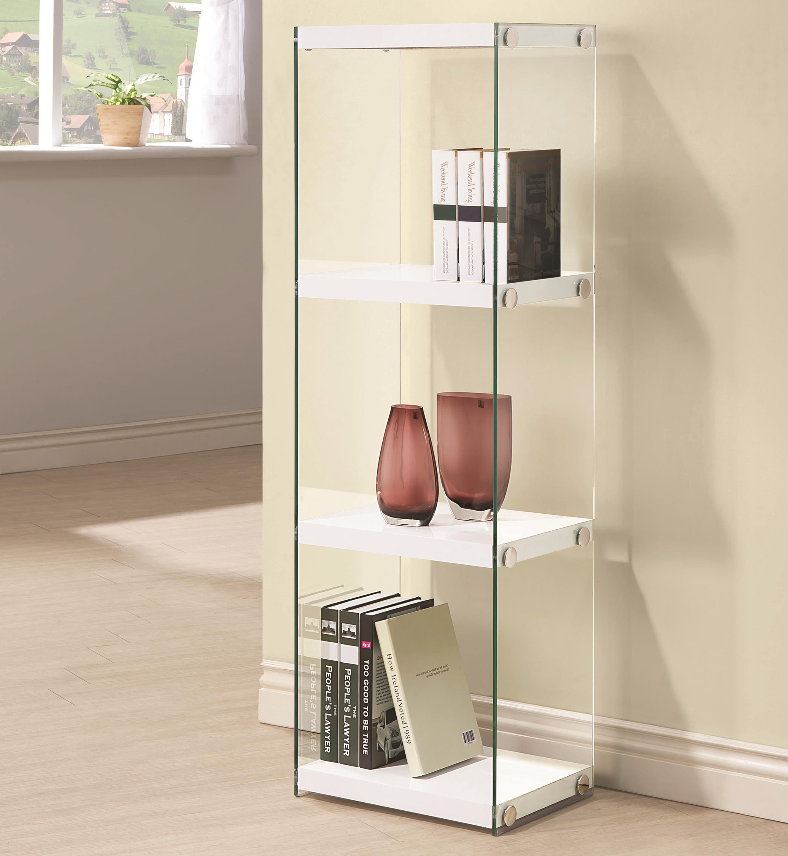 Coaster Bookcases 3 Shelf Bookcase - Item Number: 801258