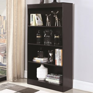 Coaster Bookcases 4 Shelf Bookcase