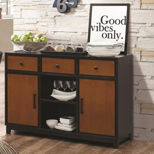 Coaster Boyer Dining Server