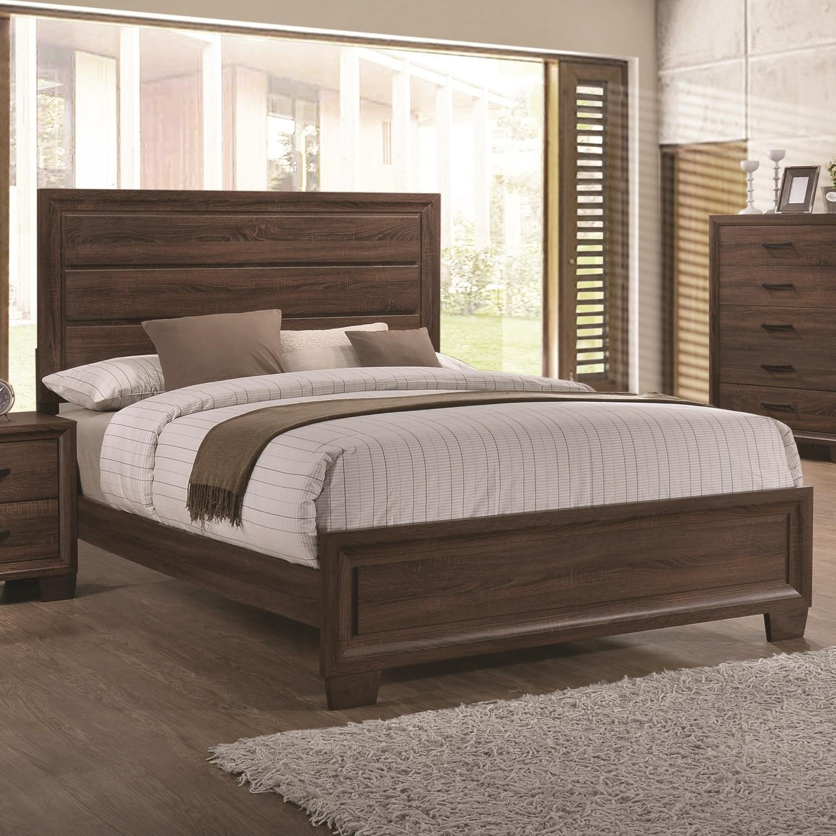 Fine Furniture Brandon 205321Q Transitionally Styled Queen
