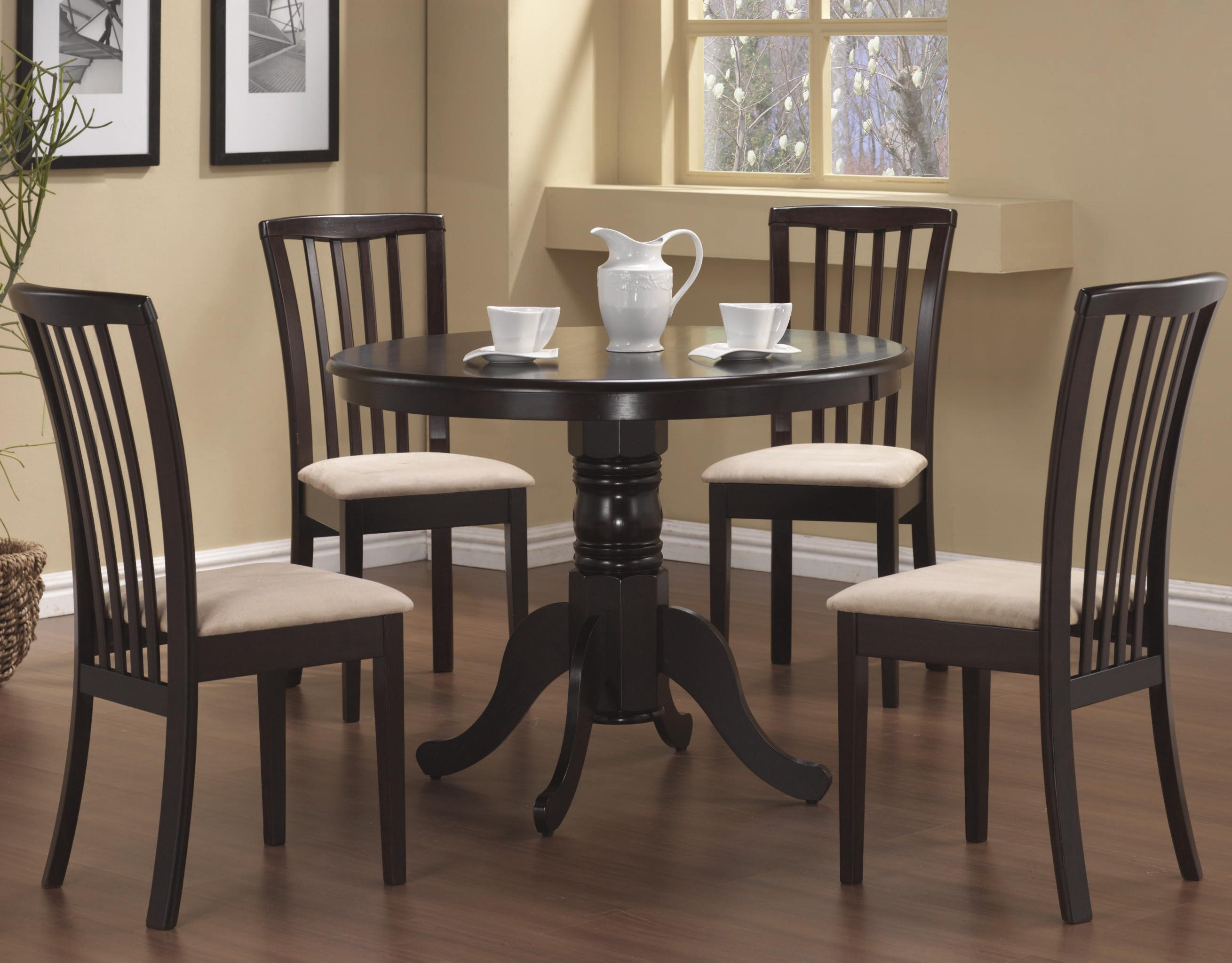 Coaster Brannan 5 Piece Dining Set - Item Number: 101081+4x2
