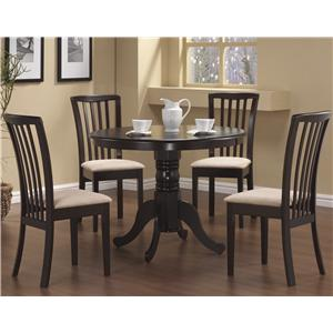 Coaster Brannan 5 Piece Dining Set