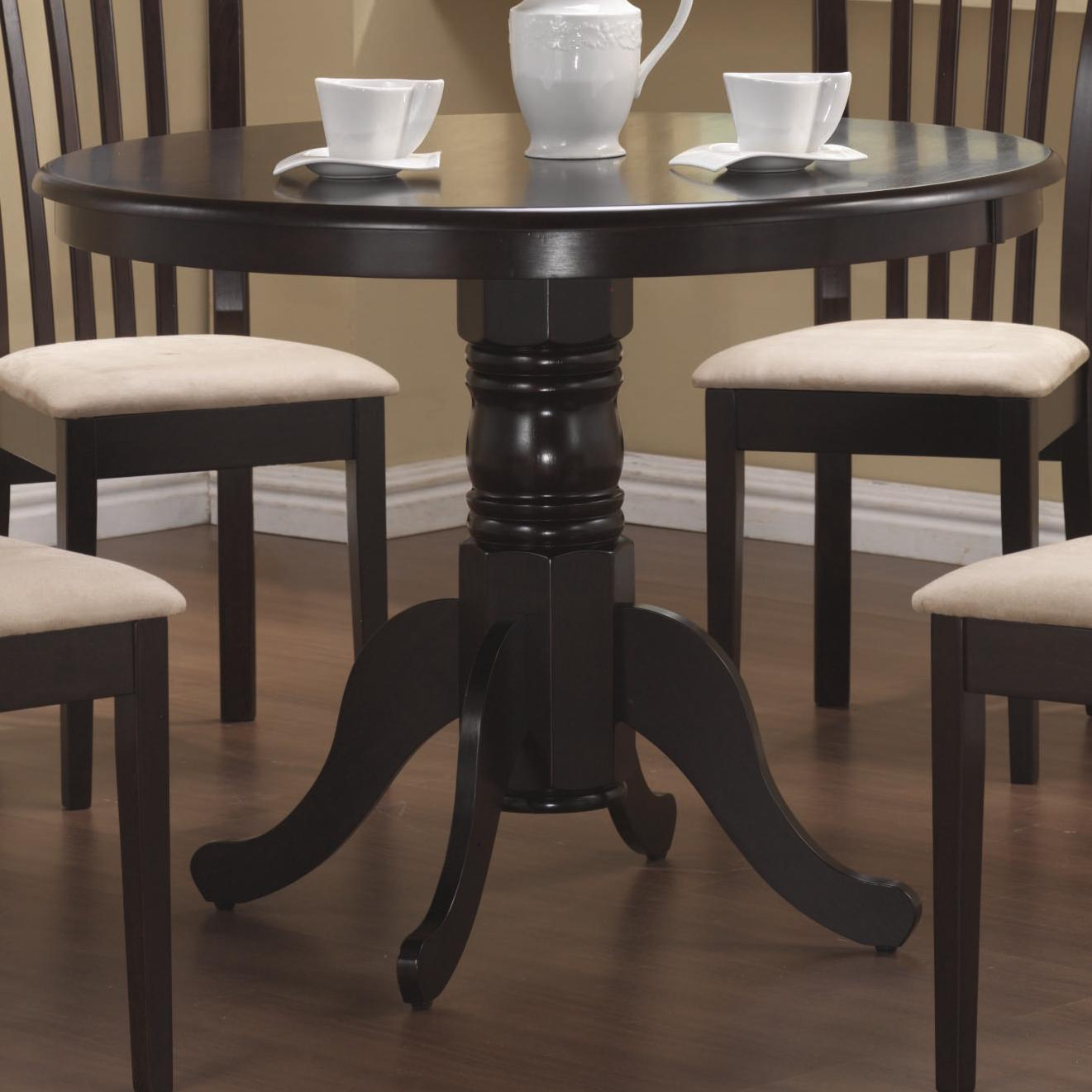 Coaster Brannan Round Dining Table - Item Number: 101081