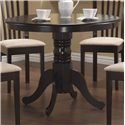 Coaster Brannan Round Single Pedestal Dining Table - 101081