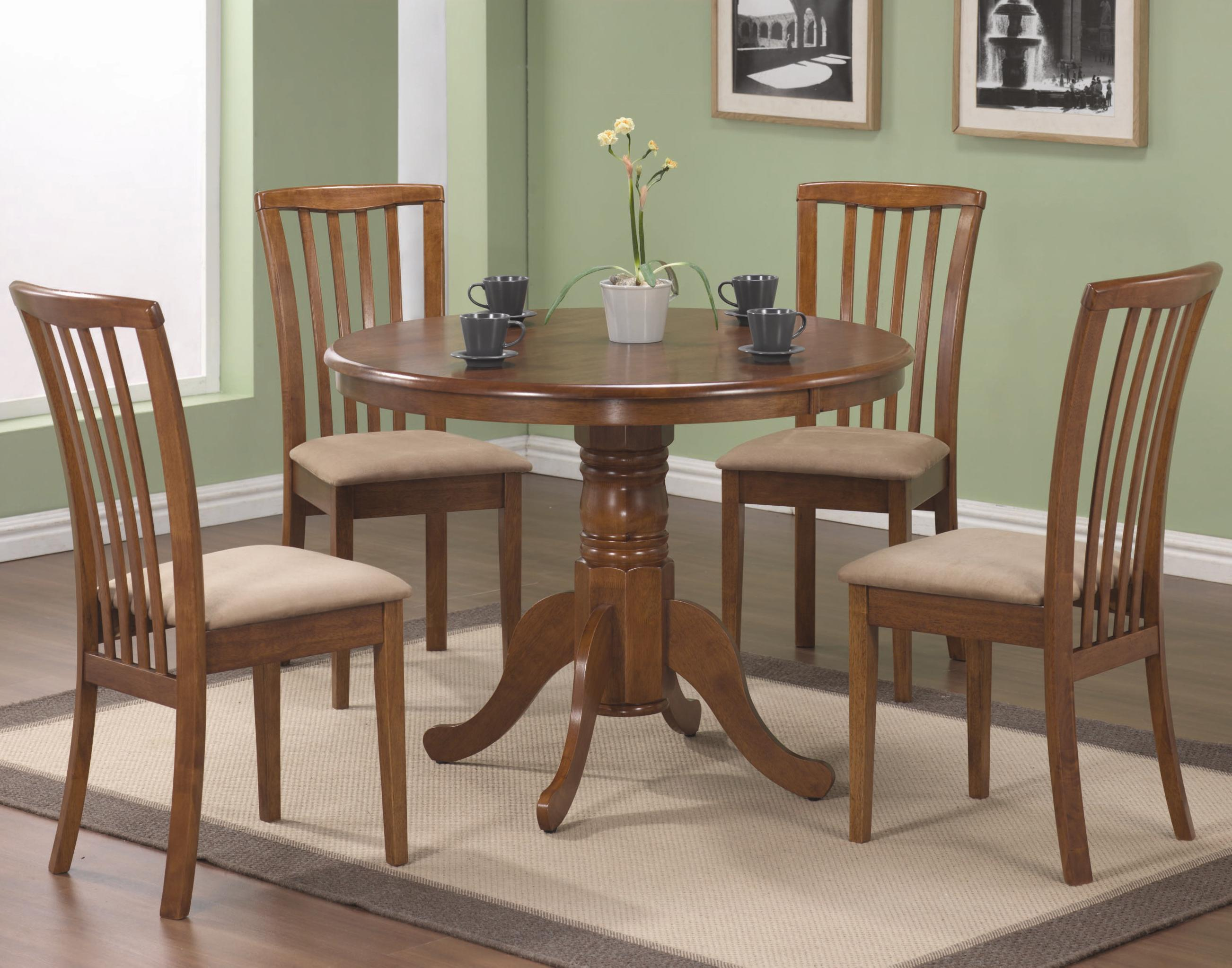 Coaster Brannan 5 Piece Dining Set - Item Number: 101091+4x2