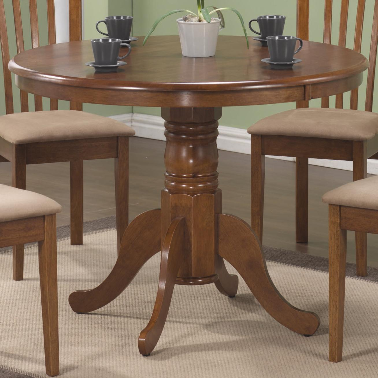 Brannan Round Dining Table by Coaster at Standard Furniture