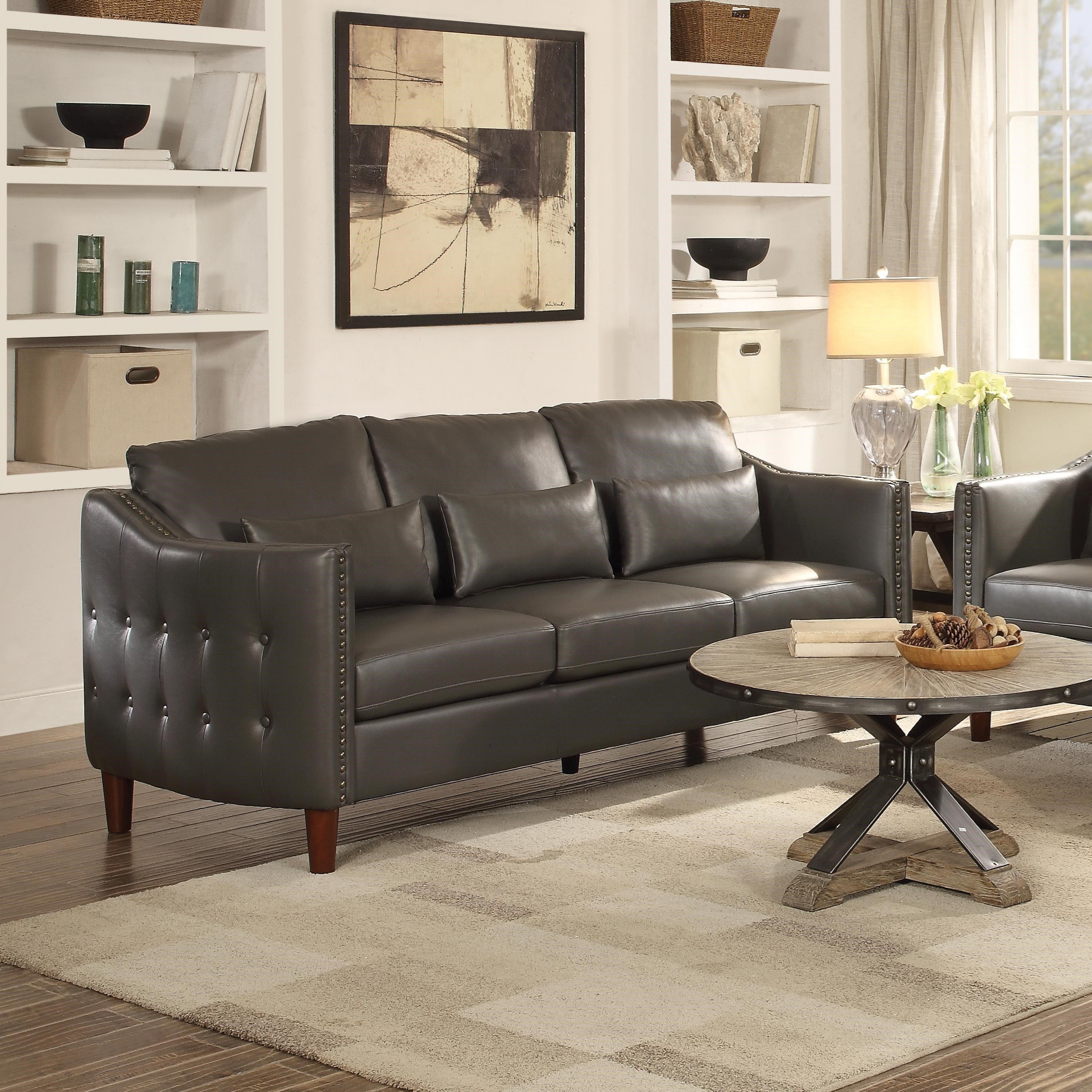 Coaster Braxten Sofa With Transitional Style Value City Furniture Sofas