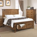 Coaster Brenner Full Storage Bed with Dovetail Drawers