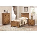 Coaster Brenner Twin Panel Bed