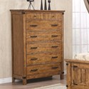 Coaster Brenner 7 Drawer Chest - Item Number: 205265