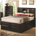 Coaster Briana California King Storage Bed - Item Number: 202701KW
