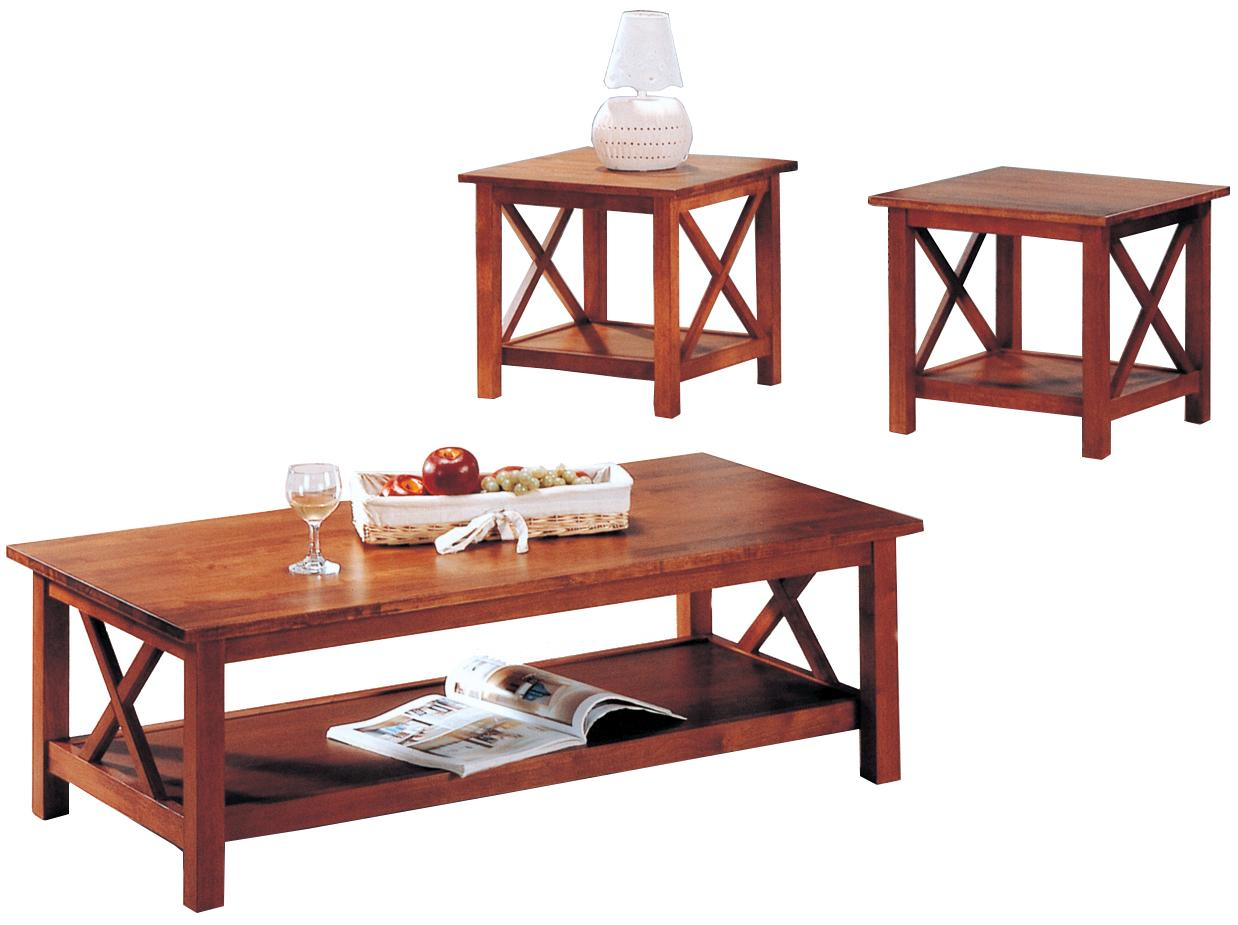 Coaster Briarcliff 3 Piece Table Set - Item Number: 5907