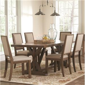 Coaster Bridgeport Table and Chair Set