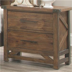 Coaster Bridgeport Nightstand with 2 Drawers